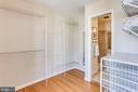 Huge Walk In Closet - 2102 MILITARY RD, ARLINGTON