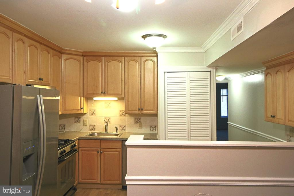 Bright and open kitchen with stainless appliances. - 5091 7TH RD S #102, ARLINGTON