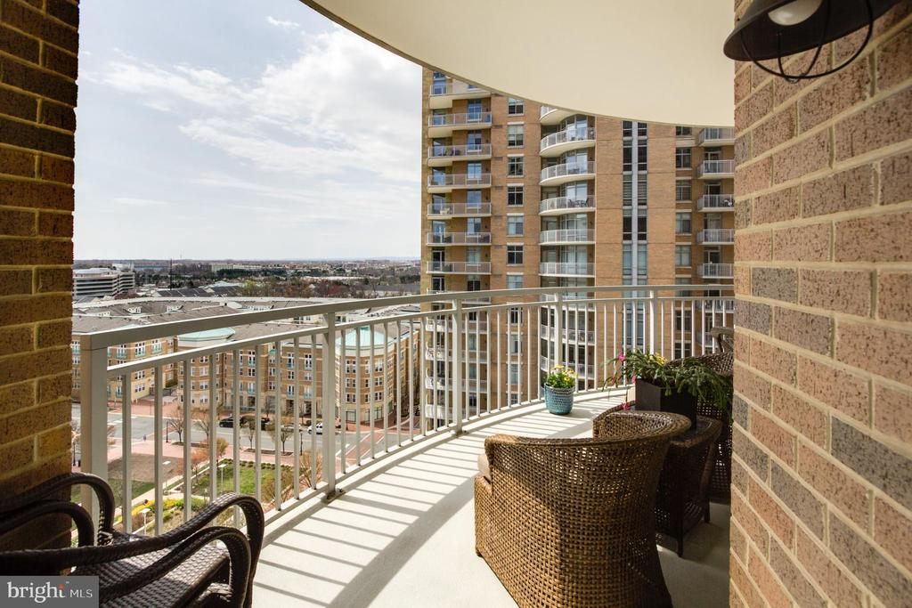 Balcony - 11990 MARKET ST #1101, RESTON