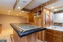 Basement Wet Bar - 16612 ACCOLON CT, DUMFRIES