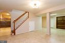 Basement Rec Room - 16612 ACCOLON CT, DUMFRIES