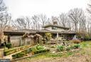 Back of the home - 9 OLDE PLANTATION DR, FREDERICKSBURG