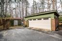 Detached 2 car garage - 9 OLDE PLANTATION DR, FREDERICKSBURG