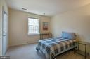 2nd bedroom - 18318 STREAMSIDE DR #203, GAITHERSBURG