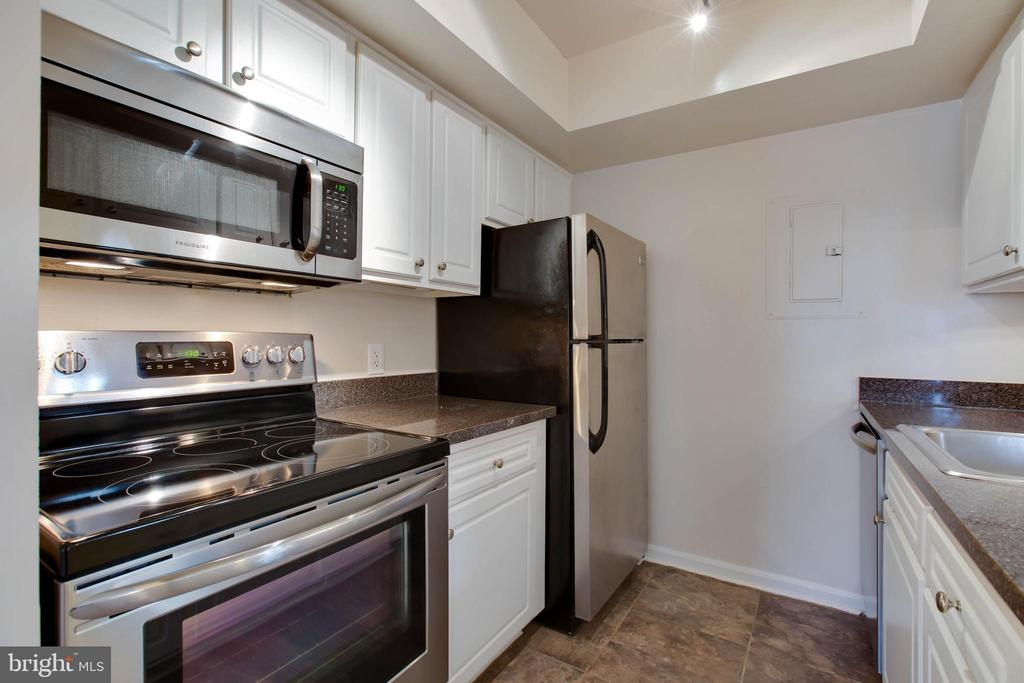 Updated kitchen - 18318 STREAMSIDE DR #203, GAITHERSBURG