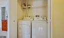 Full size washer and dryer - 18318 STREAMSIDE DR #203, GAITHERSBURG