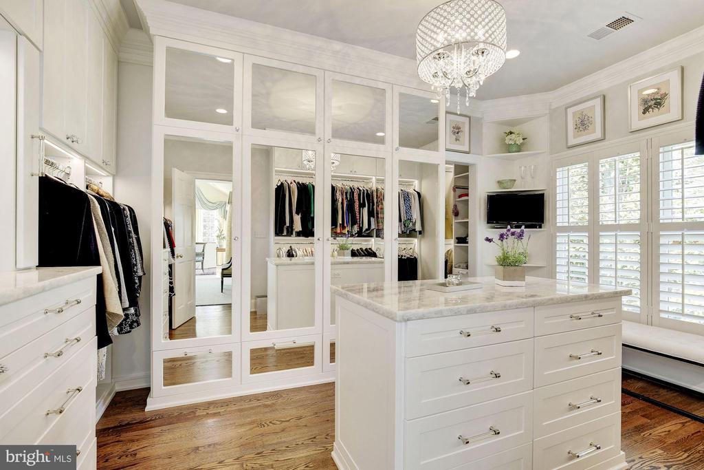 Her closet is a dream! - 224 W WINDSOR AVE, ALEXANDRIA