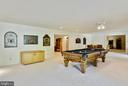 Lower Level with Space for Fun - 6901 CLIFTON RD, CLIFTON