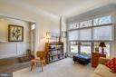 Main level bedroom - 10884 SYMPHONY PARK DR, NORTH BETHESDA