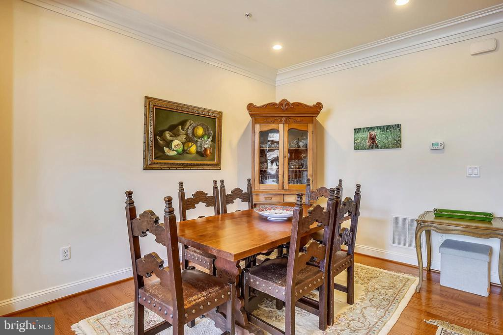 Formal Dining Area - 10884 SYMPHONY PARK DR, NORTH BETHESDA