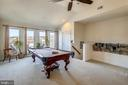 Upper level bedroom/ game rm/vaulted ceiling - 10884 SYMPHONY PARK DR, NORTH BETHESDA