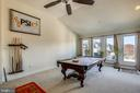 Upper level bedroom/game room - 10884 SYMPHONY PARK DR, NORTH BETHESDA