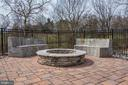 STONE SOFAS SURROUND THE FIRE PIT - HOT! - 8728 PETE WILES RD, MIDDLETOWN