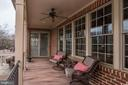 PORCH SEATING OVERLOOKS THE POOL,  MEADOWS & MNTNS - 8728 PETE WILES RD, MIDDLETOWN