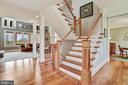 LOVE THE OPEN STAIRCASES IN THIS HOME - 8728 PETE WILES RD, MIDDLETOWN