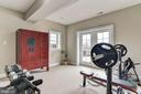 GYM AREA IN THE LOWER LEVEL - 8728 PETE WILES RD, MIDDLETOWN