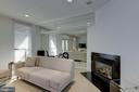 Sleek Family Room with Fireplace - 2131 N SCOTT ST, ARLINGTON