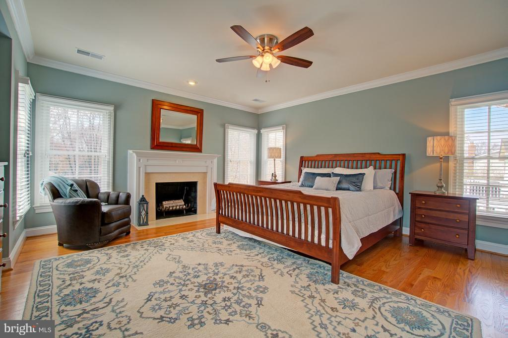 Master suite feels so private - 601 PARK ST SE, VIENNA