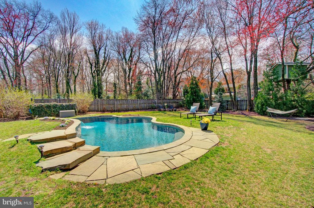 Your oasis in the backyard - 601 PARK ST SE, VIENNA
