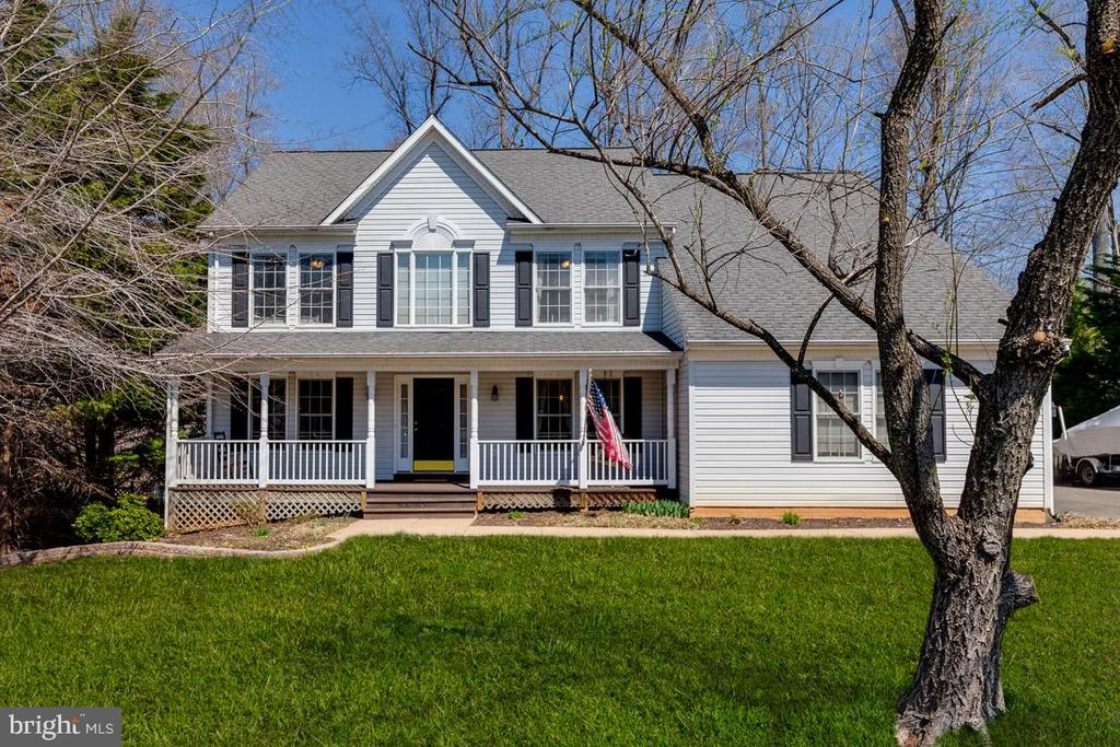 Beautiful Front Porch waiting for you! - 12840 DUSTY WILLOW RD, MANASSAS