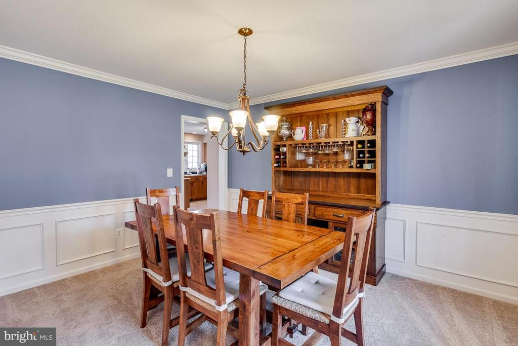 Dining Room - 12840 DUSTY WILLOW RD, MANASSAS