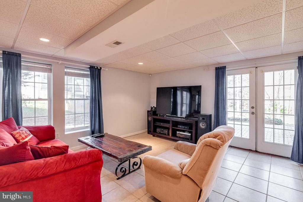 Second Family Room | Game Room - 12840 DUSTY WILLOW RD, MANASSAS