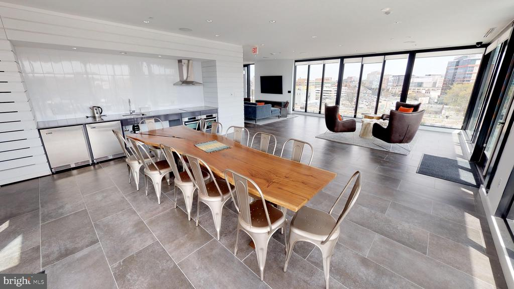 Roof Pavilion with gas grill. - 57 N ST NW #N-225, WASHINGTON