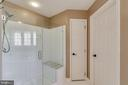 Inviting Shower in Master Bath - 12840 DUSTY WILLOW RD, MANASSAS