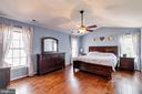Beautiful Master Bedroom Floors - 12840 DUSTY WILLOW RD, MANASSAS