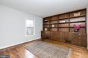 Study or 6th Bedroom w/Built-Ins - 8619 GEORGETOWN PIKE, MCLEAN