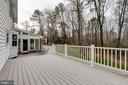 Low Maintenance PVC Deck w/Views of Trees - 8619 GEORGETOWN PIKE, MCLEAN