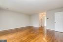 Master Bedroom w/Walk-In Closets & Wood Flooring - 8619 GEORGETOWN PIKE, MCLEAN