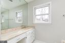 Master Bathroom w/Dual Vanities - 8619 GEORGETOWN PIKE, MCLEAN