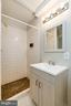 Finished Basement Bathroom w/Shower Stall - 8619 GEORGETOWN PIKE, MCLEAN