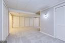 Finished Basement w/Playroom Area & Closets - 8619 GEORGETOWN PIKE, MCLEAN