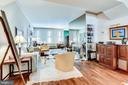 2 separated living spaces with wood Fireplace - 2301 CONNECTICUT AVE NW #1B, WASHINGTON