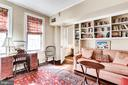 Light filled 2nd bedroom w/ built in shelving - 2301 CONNECTICUT AVE NW #1B, WASHINGTON
