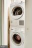 Newer washer and dryer - 2301 CONNECTICUT AVE NW #1B, WASHINGTON