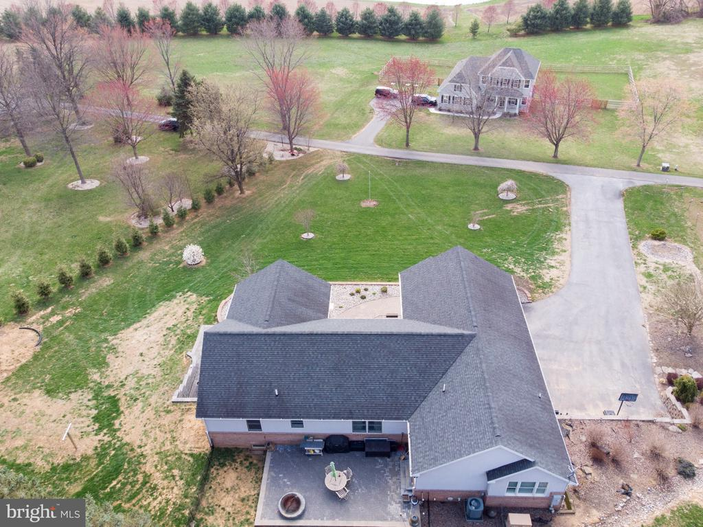 Arial view from back - 9154 MYERSVILLE RD, MYERSVILLE