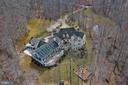 From the sky - 8033 WOODLAND HILLS LN, FAIRFAX STATION