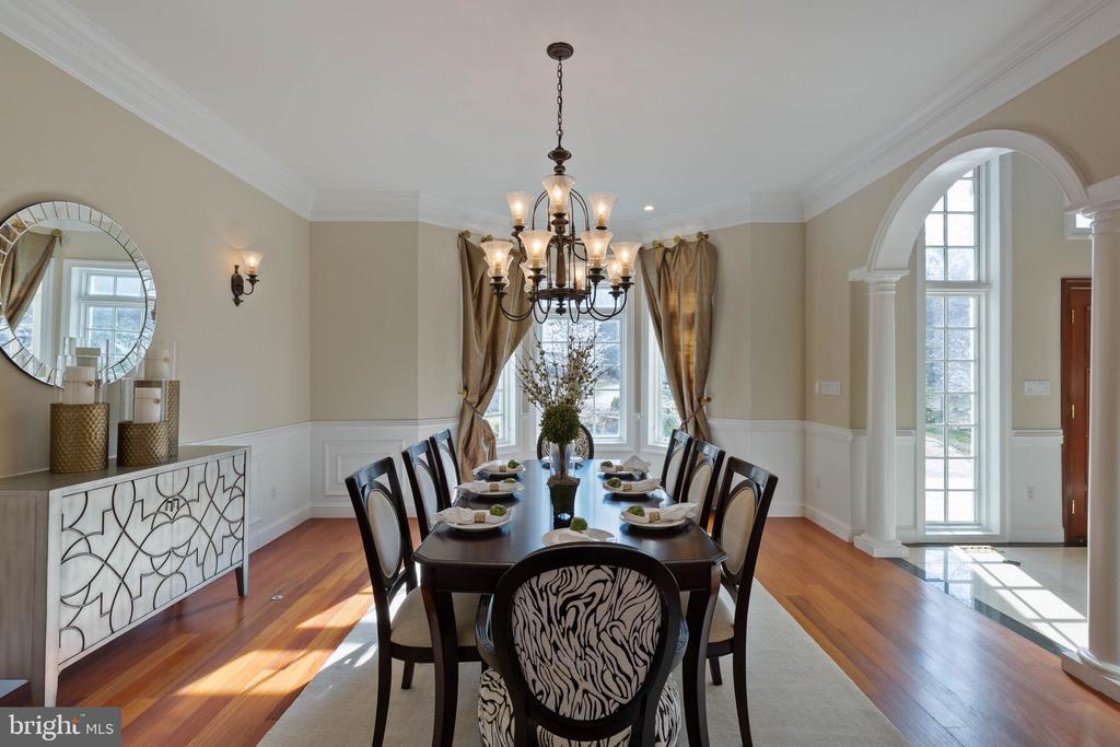 Dining Room - 8033 WOODLAND HILLS LN, FAIRFAX STATION