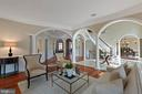 Formal Living room - 8033 WOODLAND HILLS LN, FAIRFAX STATION