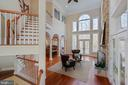 from to 2nd family room - 8033 WOODLAND HILLS LN, FAIRFAX STATION