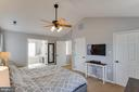 Different View of Master Bedroom - 1248 BARKSDALE DR NE, LEESBURG