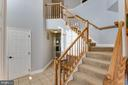 Stairs to 4 Bedrooms - 1248 BARKSDALE DR NE, LEESBURG