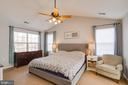 Large Master Bedroom - 1248 BARKSDALE DR NE, LEESBURG