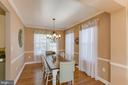 Another View of Dining Room - 1248 BARKSDALE DR NE, LEESBURG