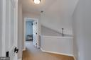 Upper Hallway with Views of Family Room - 1248 BARKSDALE DR NE, LEESBURG