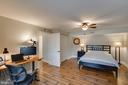 Large Bedroom with Walkout Stairs - 1248 BARKSDALE DR NE, LEESBURG