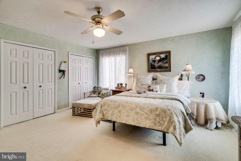 4 closets in this master suite - 6109 GLEN OAKS CT, SPRINGFIELD
